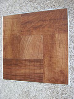 """Fake-It Frugal: DIY """"Wooden"""" Office Chair Mat"""