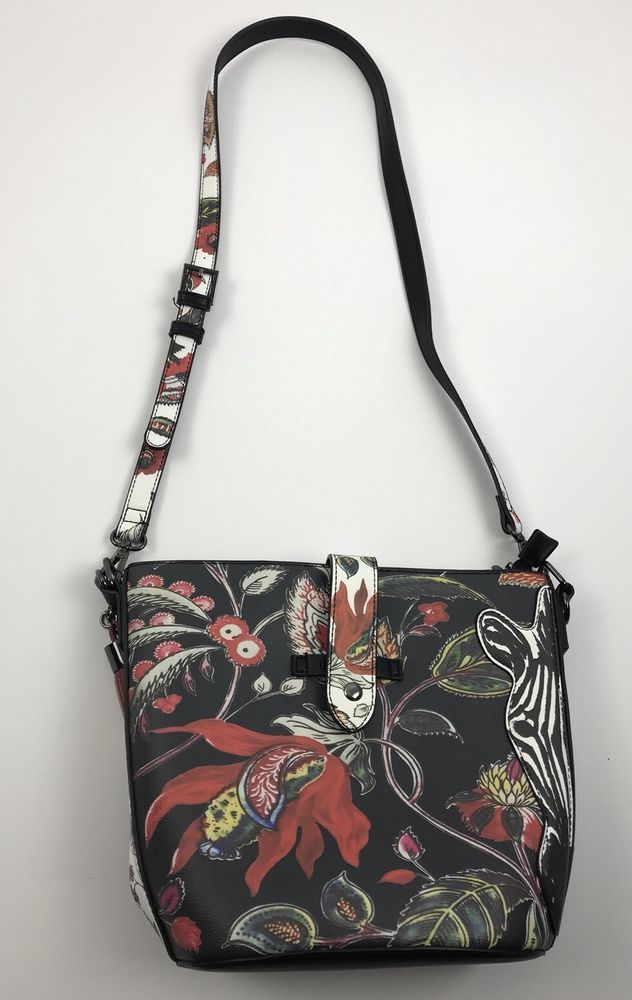 Women s DESIGUAL Floral Print Shoulder Bag QLT1 G18  fashion  clothing   shoes  accessories  womensbagshandbags  ad (ebay link) 3b144259b3627
