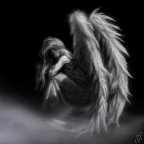 Female Dark Angel | not afraid to take a stand everybody come take my hand we ll walk ...