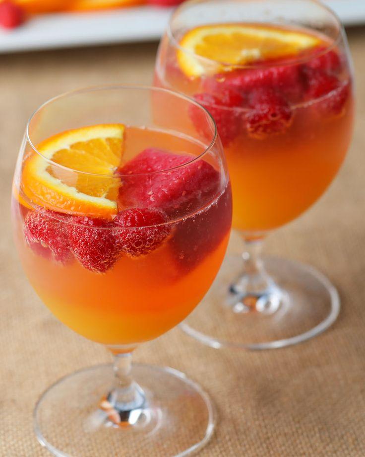 Fuze Tea Raspberry Mimosa Cooler