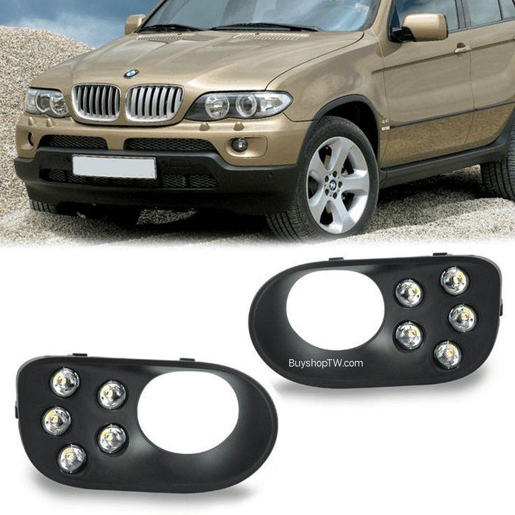 2004 - 2005 BMW X5 E53 Bumper LED Daytime Running Lights DRL #AM