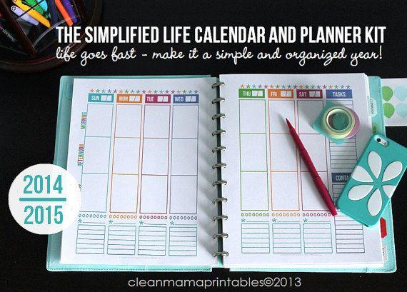 Calendar Kit Ideas : Best arc printables images on pinterest planner ideas