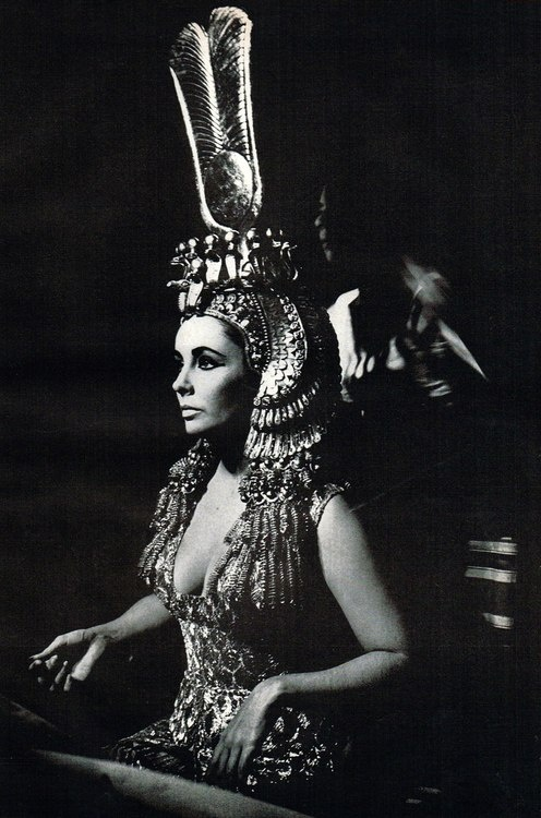 Elizabeth Taylor. Cleopatra. 1963                                                                                                                                                                                 More