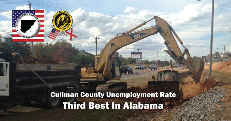 CULLMAN COUNTY UNEMPLOYMENT RATE IS THIRD LOWEST IN STATE