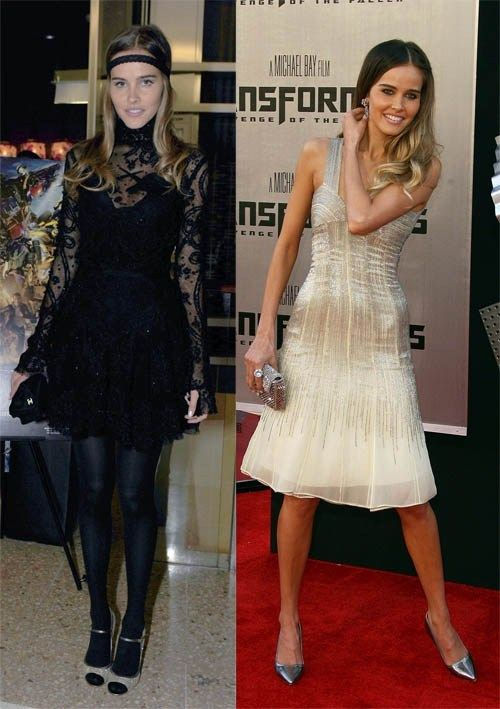Isabel Lucas's Weight Gain: Then & Now - Above