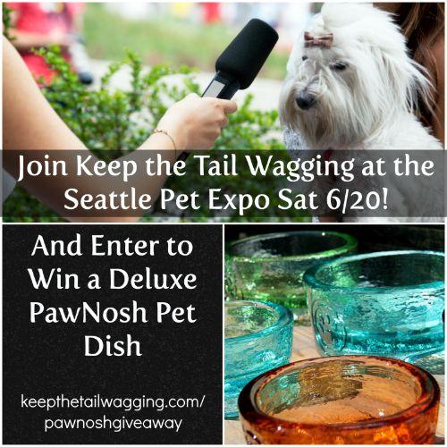 Seattle Pet Expo - PawNosh Giveaway