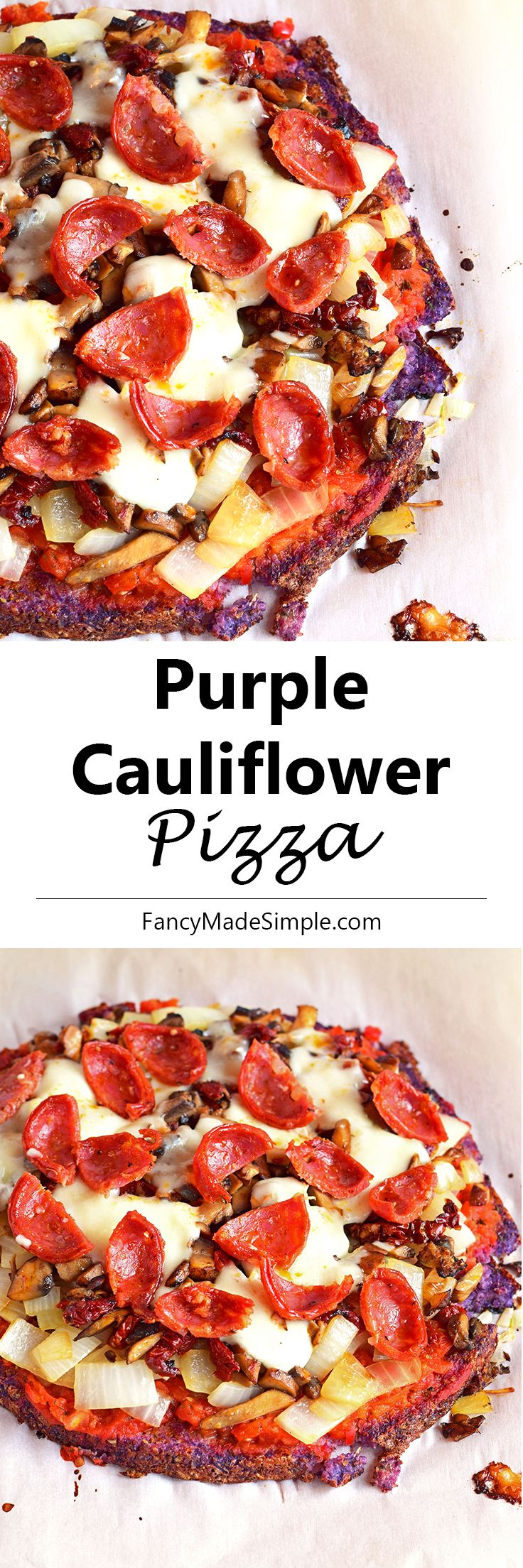 Blue apron cauliflower pizza