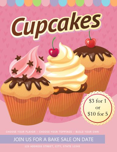 10 Best Bake Sale Flyer Ideas Images On Pinterest Bake Sale Flyer