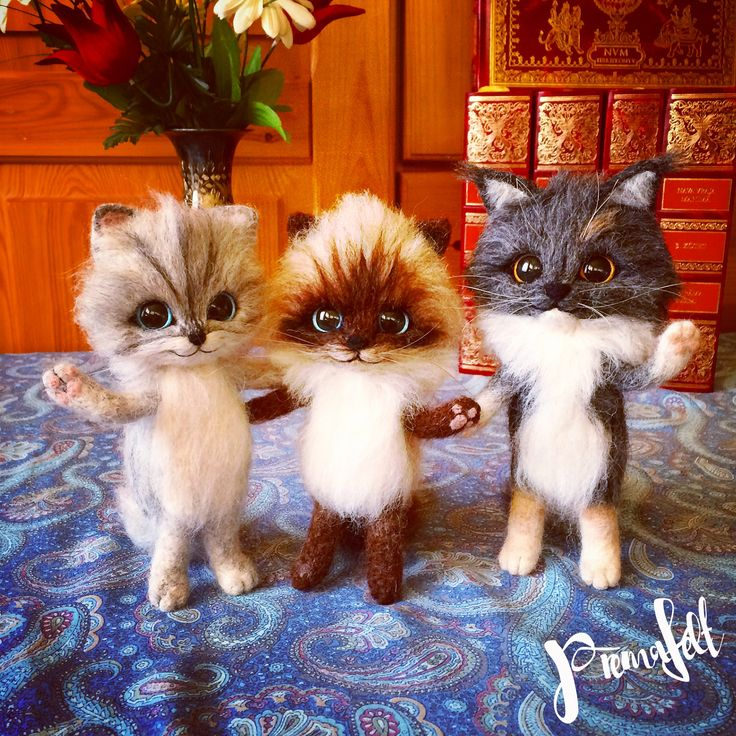 Needle felted cat, handmade kittens,  #needlefeltedanimals #softsculpture  #handmade #fiberart #cutemouse #realisticanimal #catkitten #bunny #cat #bunnies #merinowool #miniaturefigurine #animalsculpture #handmadefigurine #wool #easter #valentinesday #handmadeanimal #feltdoll #happyanimals #mouse #christmas #ecofrendly #creative #fox #needlefeltedfigurine #woodlandcreatures #funnyfigurines #giftforanimallovers  #giftfornaturelovers #woolanimal