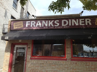Frank's Diner - Kenosha, WI - a must stop if you ever are close but got to get there by 1:30pm