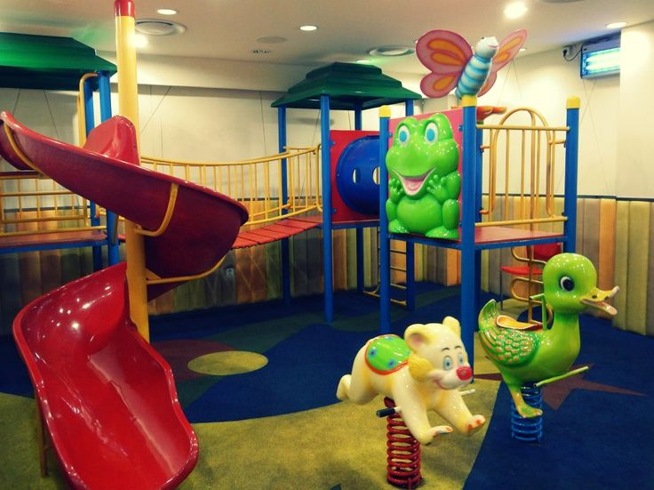 Spotted at Lotteria Fatmawati, Jakarta Selatan -- didn't expect that a fast food chain that small can host a playground.
