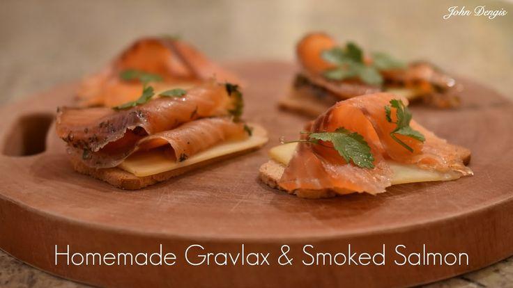 Homemade Gravlax & Smoked Salmon