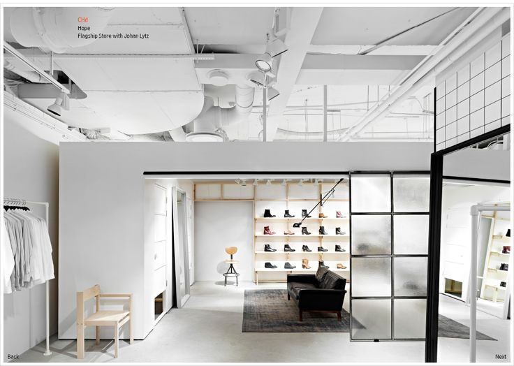 Hope flagship store | Johan Lytz and Christian Halleröd design