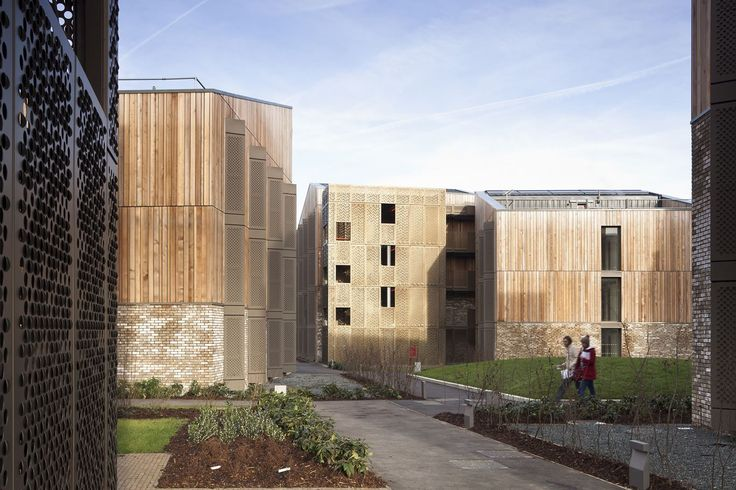 Student Village, Royal Veterinary College - Picture gallery