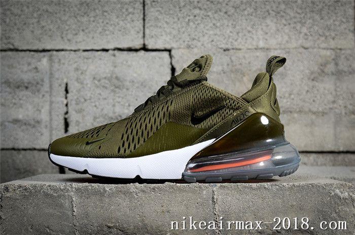 Nike Air Max 270 AH8050 201 Green Sneaker for Online Sale