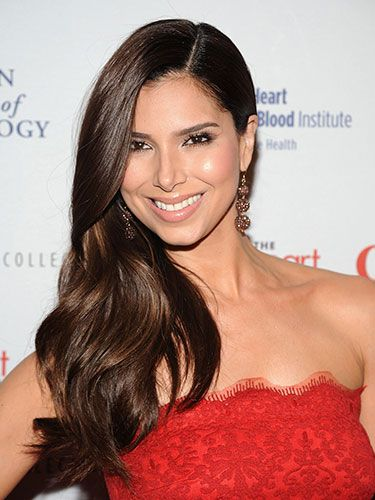 "Roselyn Sanchez -   The Devious Maids star looks polished but still sexy with lush, warm brown hair. ""For fall, women can start working their way back into darker tones by adding lowlights or glazes to their existing color,"" says Rusk artistic director and celebrity stylist Gerard Caruso, who has worked with Nancy O'Dell and Giuliana Rancic. ""This will also help revive hair from summer sun damage."""