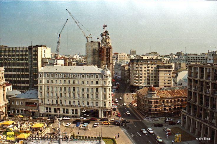 Iunie 2000. Calea Victoriei
