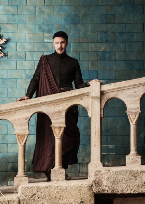 PETYR BAELISH IN HIS ESTABLISHMENT (IF YOU KNOW WHAT I MEAN)