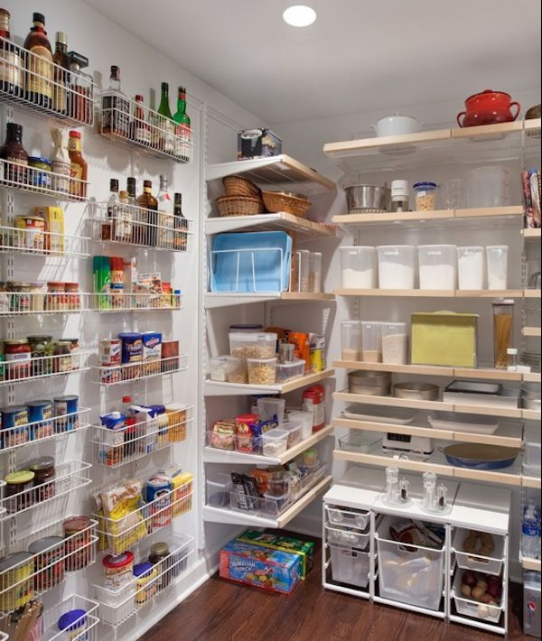 Finding Hidden Storage In Your Kitchen Pantry: 60 Best Elfa Pantry Images On Pinterest