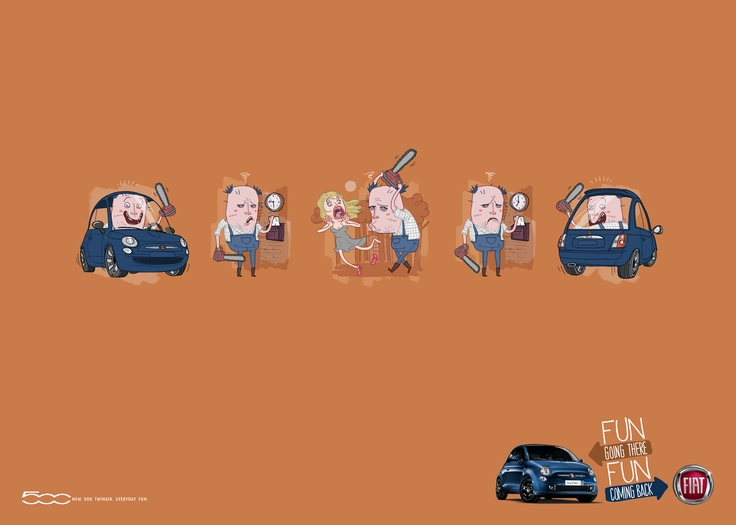 Fiat 500 Routine » Serial Killer