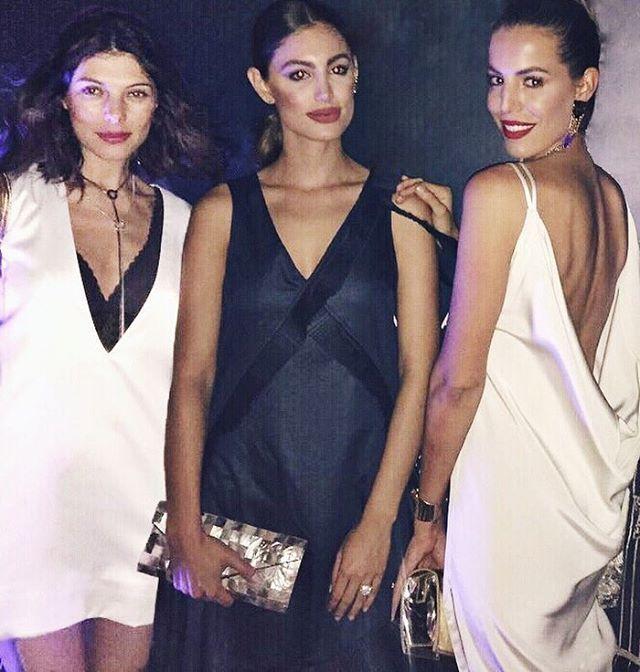 Partners in crime Nuevo post en fashiontop5.com (link en bio) acerca de las joyas negras y una razón para comprar el ultimo reloj de @omega #omegaplanetocean #anaonthego