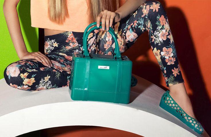 PVC Stachel Handbag by Chiara Bellini