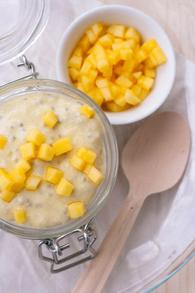 Mango-Lassi Chia Pudding