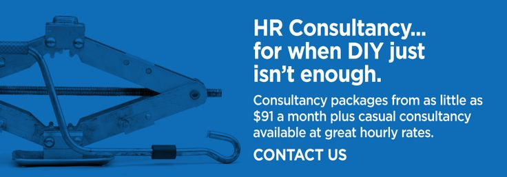 HR Consultancy … for when DIY isn't enough