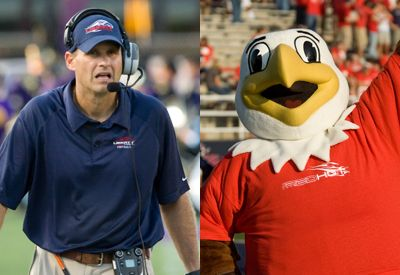 Coach Danny Rocco and Sparky need your votes in the Liberty Mutual Coach of the Year