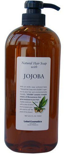 Lebel Cosmetics | Shampoo | Natural Hair Soap with Jojoba Shampoo 720ml (Japan Import) Review