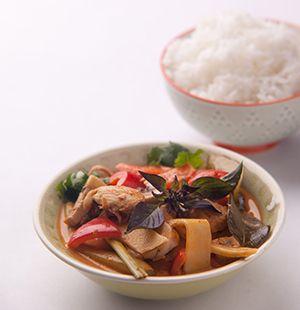 červené thajské kari chefshop