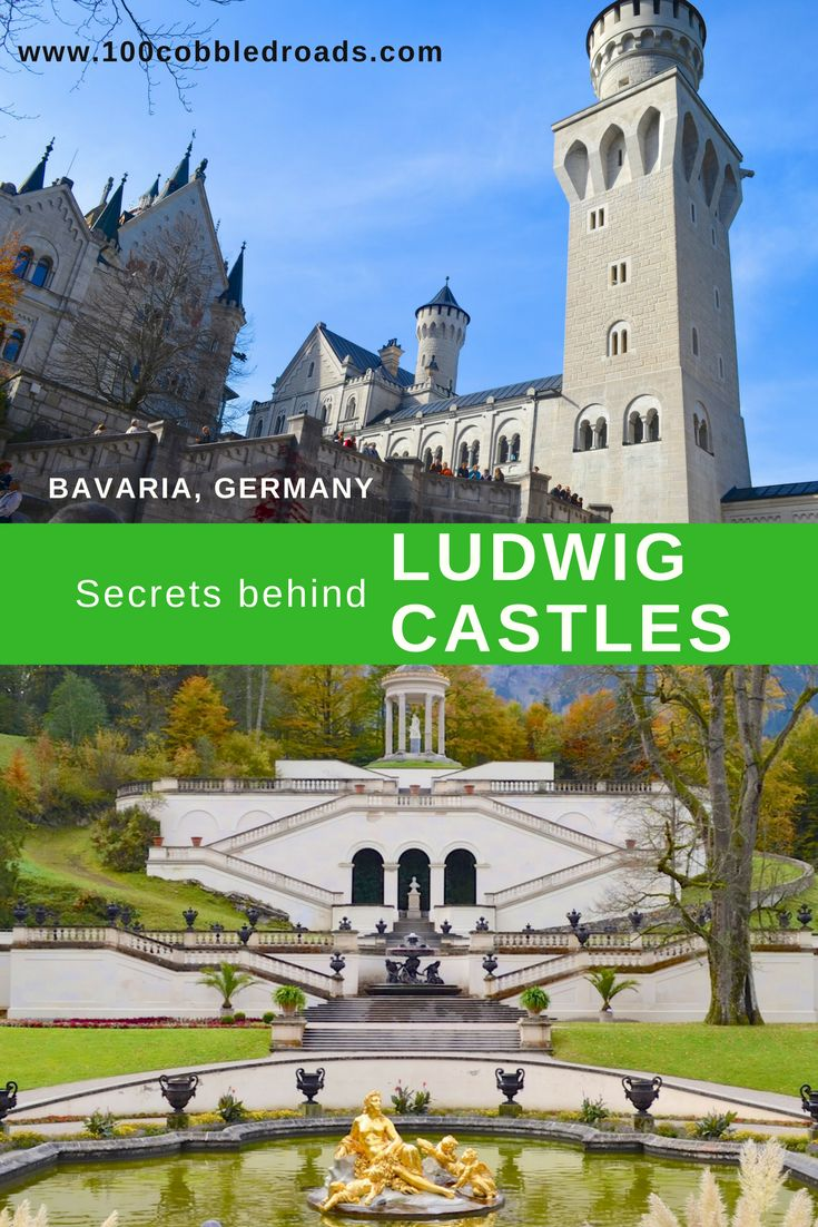 Make Munich your base to explore two of Ludwig's most well-recognised fairytale castles. To marvel at their artistic splendour, but also to fathom the folds of the troubled mind of an reluctant ruler, whose life (and death) are shrouded in dark mystery. The castle hunt takes you along the Romantic Road (couldn't be better named), credited as of the world's most spectacular drives.