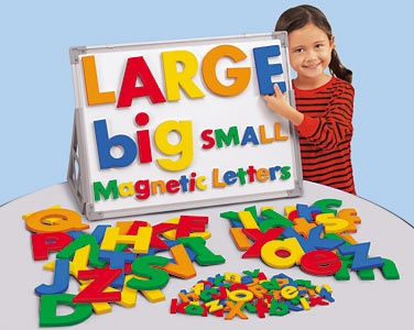 jumbo magnetic letters 3995 each lowercase and uppercase total 7990