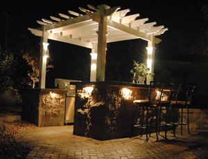 outdoor bar lighting ideas credainatcon com