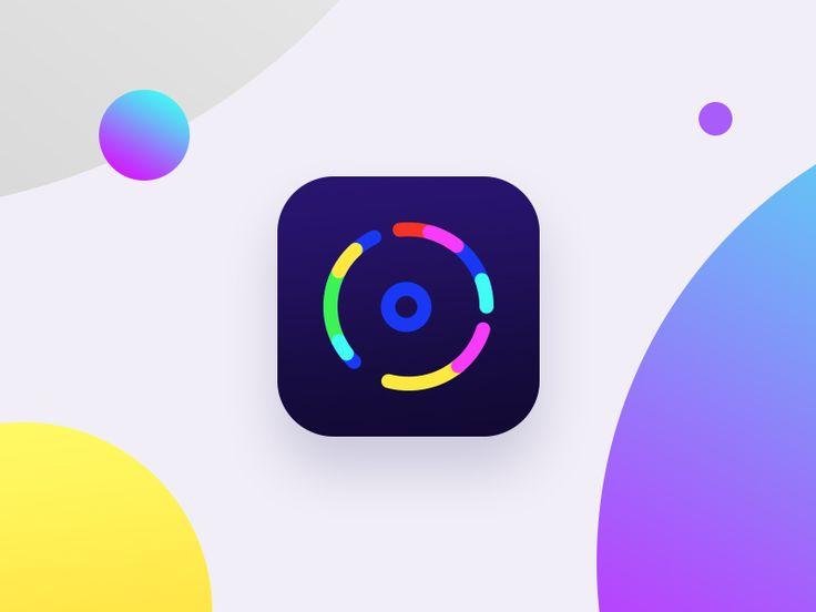 Xiu  yuan  - icon    camera,color,colorful,eye,gradient,icon,video