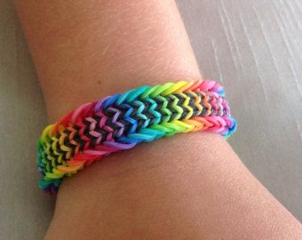 Loom Bandz Fishtail Armband Die Anleitung Dazu Findest Du