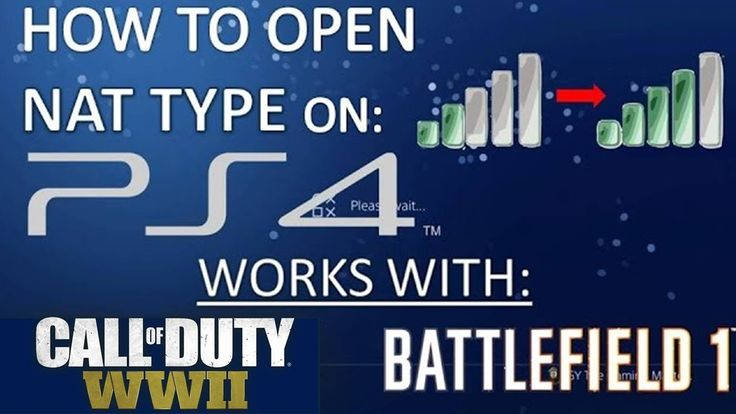 HOW TO OPEN NAT TYPE ON PS4 (works on all routers) HOW TO OPEN NAT TYPE ON PS4: STEPS: 1-GO TO SETTINGS - NETWORK - VIEW CONNECTION SETTINGS AND WRITE YOUR IP ADDRESS DEFAULT GATEWAY SUBNET MASK AND DNS 2-SET UP INTERNET CONNECTION: MANUEL IP ADDRESS AND SET IP SAME AS OLD ONE ONLY CHANGE LAST 3 DIGITS TO 158: XXX.XXX.X.158 AND WRITE THE SAME GATEWAY SUBNET MASK AND DNS 3- GO TO YOUR ROUTER GATEWAY AND ENABLE DMZ FOR THE IP OF YOUR PS4 XXX.XXX.X.158 don't forget to like the video and…