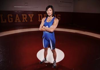 Carol Huynh: SFU alumni and Olympic gold medalist in women's wrestling.