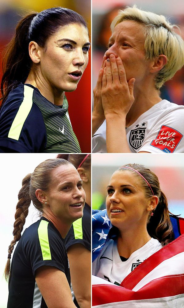 Womens Soccer Hairstyles World Cup Updo Inspiration