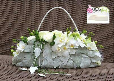 VIDA Statement Bag - flowers basket-23 by VIDA L0edD3te