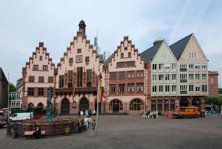 Place Römerberg - Francfort-sur-le-Main - Allemagne