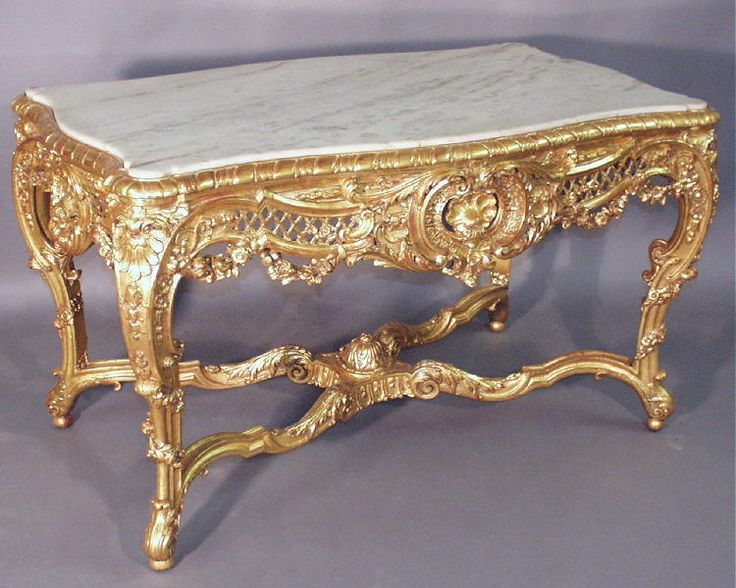 Rococo table for sale french rococo style in furniture for French baroque characteristics