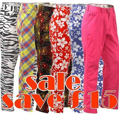 Sale golf trousers by #royal and awesome funky pants #waist 30 - 44 #reduced chea,  View more on the LINK: http://www.zeppy.io/product/gb/2/282057069300/