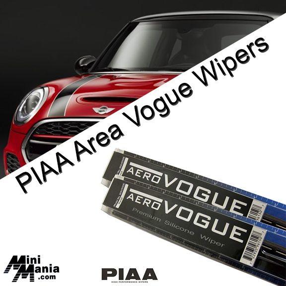 Piaa Aero Vogue High Performance Silicone Wiper Blades For New Mini Cooper Wiper Blades New Mini Cooper Aero