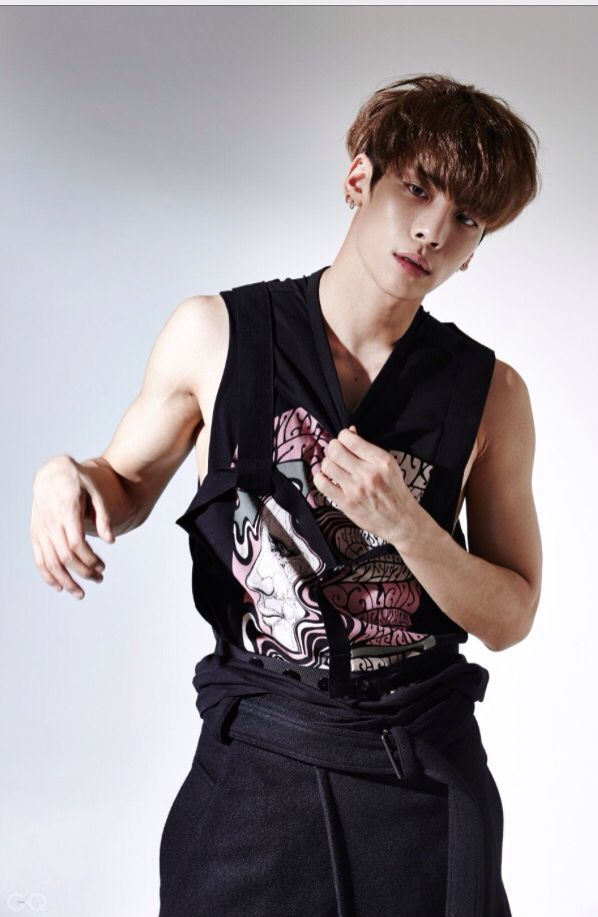 SHINee @GQ Korea (Setembro) - Jonghyun