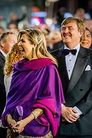 Queen Maxima at 50th birthday dinner for King Willem-Alexander, April 27, 2017| Robin Utrecht |