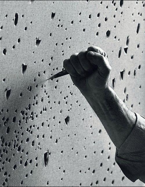 Ugo Mulas - Lucio Fontana, Milano, 1964