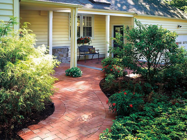 Basket Weave Patio Pattern : Curated brick patio patterns ideas by katrinaklaphake