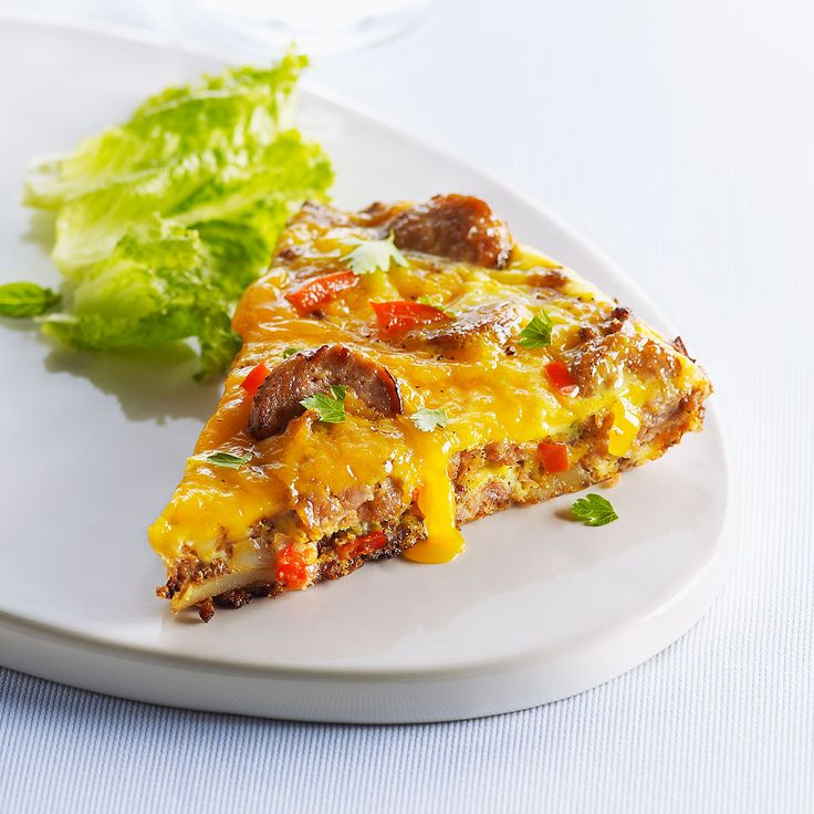 Frittata fromagée