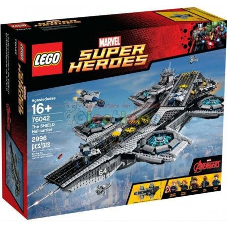LEGO 76042 SUPER HEROES SHIELD HELICARRIER